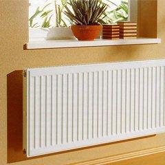 Смещение радиатора отопления