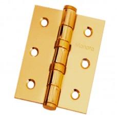 """Петля дверная """"MANERA"""" универсальная (120 х 75 мм) латунь"""