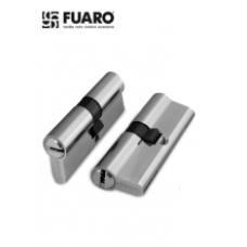 Цилиндр FUARO 60 мм (30+30) К/К мат. хром