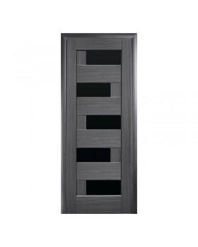 """Дверное полотно ПП """"Пиана"""" grey BLK К 80"""