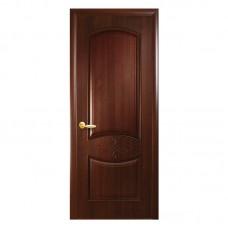 """Дверное полотно ПП """"Донна"""" каштан К 80 ПГ"""