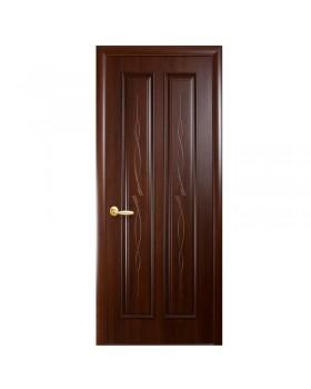 """Дверное полотно ПП """"Стелла"""" каштан К 70 ПГ"""