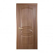 """Дверное полотно """"Овал"""" золотая ольха К 60 ПГ"""