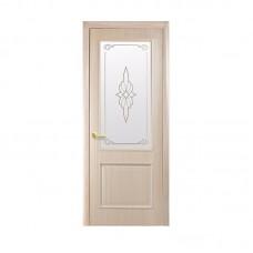 """Дверное полотно """"Вилла"""" ясень К 80+Р1 ПП ПО"""