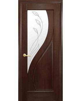 """Межкомнатные двери Новый Стиль """"Прима"""" каштан К 60 + Р2"""