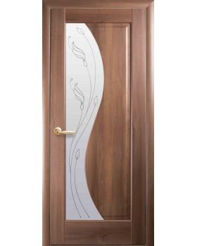 """Дверное полотно Новый Стиль """"Эскада"""" золотая ольха К60 + P2"""