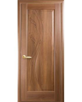 """Дверное полотно Новый Стиль """"Эскада"""" золотая ольха К80 + GR1"""