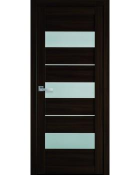 """Дверное полотно Новый стиль """"Лилу"""" орех 3D К60"""