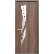 """Дверное полотно Новый Стиль """"Камея"""" ольха 3D К60 + Р1"""