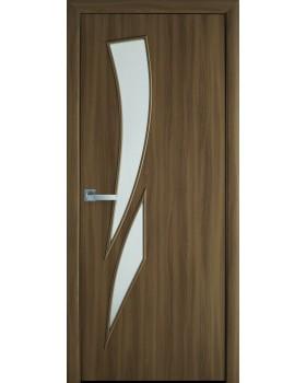 """Дверное полотно Новый Стиль """"Камея"""" ольха 3D К60"""