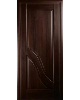 """Дверное полотно Новый стиль """"Амата"""" каштан К 60"""
