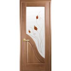 """Дверное полотно Новый стиль """"Амата"""" золотая ольха К 60+Р1"""