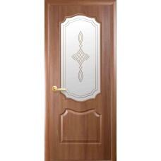 """Дверное полотно Новый Стиль """"Вензель"""" золотая ольха К 80 + Р1"""