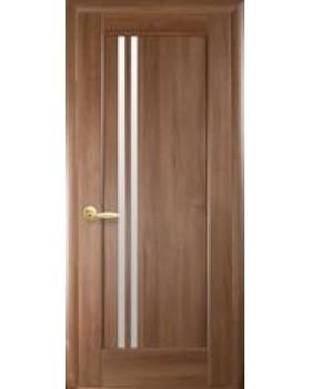"""Дверное полотно Новый Стиль """"Дэлла"""" золотая ольха К 80"""