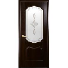 """Дверное полотно Новый Стиль """"Вензель"""" каштан К 60+Р1"""