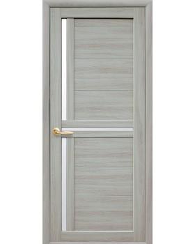 """Дверное полотно Новый стиль """"Тринити"""" ясень патина К60"""