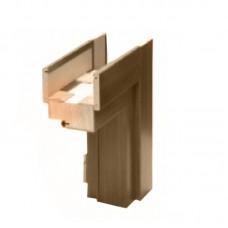 "Дверная коробка ""Brama"" премиум американский орех (80 мм)"