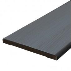 Планка доборная ПП Delux 120х10х2060мм grey