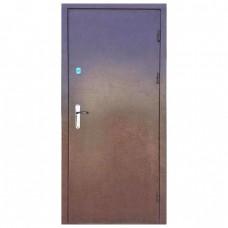Дверь входная металлическая (860 мм) левая