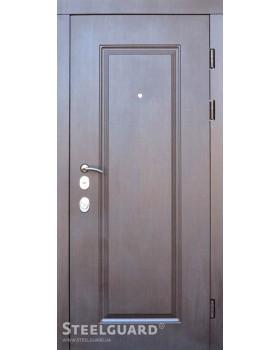 Двери металлические DP-1, серия FORTE+ SteelGuard 860 левая