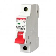Автоматический выключатель e.mcb.stand. 45.1.C10, 1р, 10А