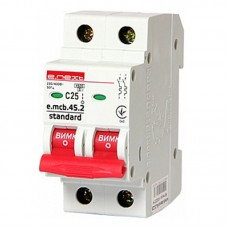 Автоматический выключатель e.mcb.stand. 45.2.C32, 2р, 32А