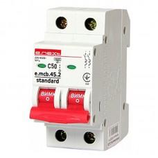Автоматический выключатель e.mcb.stand. 45.2.C50, 2р, 50А