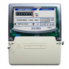 Счетчик электроэнергии ЦЭ 6804-U/1 220В 5-60А 3ф 4пр. М7Р32
