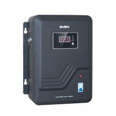 """Стабилизатор напряжения """"SVEN"""" AVR PRO LCD 10000 (8 кВт)"""