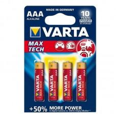 "Батарейка ""VARTA"" AAA/LR03 Max-Tech (блистер 4 шт)"