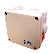 Распределительная коробка  100х100х70 мм (АсКо)