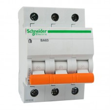 Автоматический выключатель ВА 63 3П 40 А С 11227 (домовой)