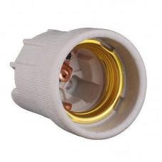 Патрон для лампы керамический Е27