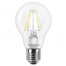 Лампа светодиодная Maxus LED A60 FM 8W 3000K 220V E27