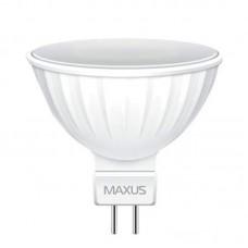 Лампа светодиодная Maxus LED MR16 3W 4100K 220V GU5.3 GL