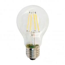 Лампа светодиодная LUXEL filament А60 Е27 7W 4000К