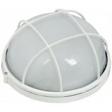 Светильник влагозащищенный НПП1302 60Вт IP54 ІЕК круглый, белый с реш.