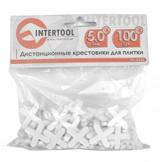 "Крестики для плитки ""INTERTOOL"" 5 мм (100 шт)"