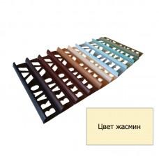 Уголок для плитки наружный (8 мм) жасмин