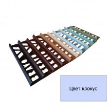 Уголок для плитки наружный (9 мм) крокус