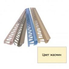 Уголок для плитки внутренний (7 мм) жасмин