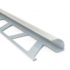Уголок для плитки наружный 7 мм белый