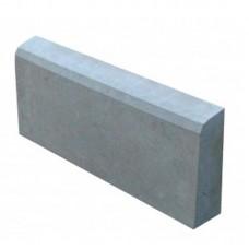 Бордюр вибролитой серый 500 х 200 х 40 мм