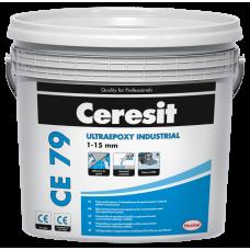 Ceresit CE 79 / 701 белый эпоксидный двухкомпонентный заполнитель швов и клей для плитки, 5 кг