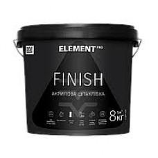 Шпатлевка Element PRO финишная 8 кг