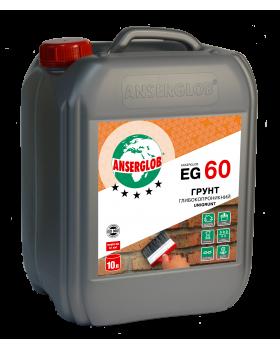 Грунт глубокопроникающий Anserglob EG-60 (10 л)