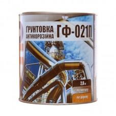 """Грунтовка ГФ-021 П """"Panafarb"""" серая (2,8 кг)"""