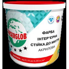 Акриловая краска стойкая к мытью ANSERGLOB (7 кг)