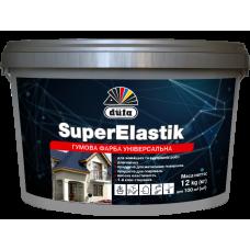 Краска резиновая Dufa SuperElastik вишневая 12 кг RAL 3005