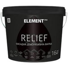 Краска структурная матовая Element PRO Relief 10 л
